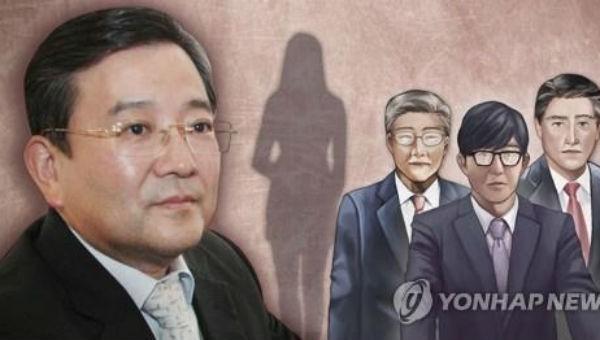 Ông Kim và những nhân vật bị cáo buộc có liên quan trong vụ việc