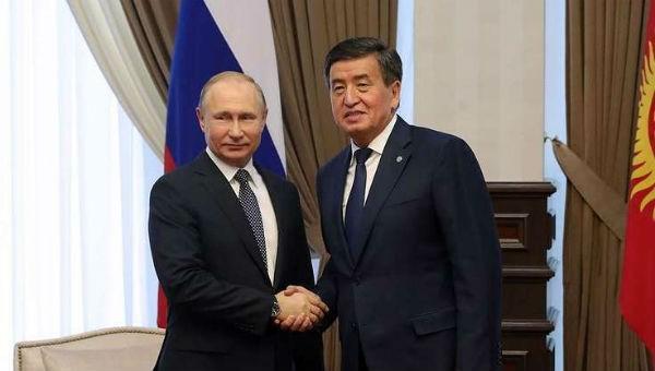 Tổng thống Nga Putin nói về căn cứ quân sự tại Kyrgyzstan