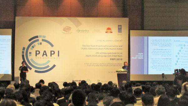 """PAPI 2018: TP. HCM, Hà Nội vào nhóm """"bét bảng"""" về kiểm soát tham nhũng khu vực công"""