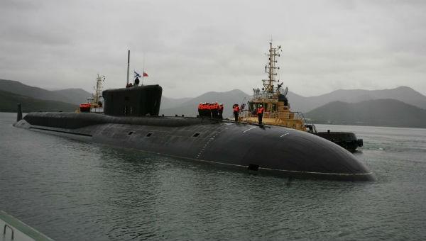 Ảnh minh họa tàu ngầm Nga.
