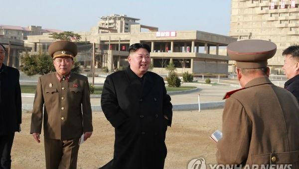 Đồn đoán việc Chủ tịch Triều Tiên Kim Jong-un thăm loạt công trình xây dựng chủ chốt
