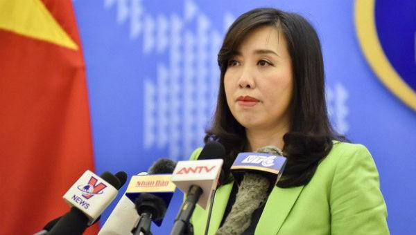 Xác minh thông tin giàn khoan Trung Quốc hoạt động trong khu vực vịnh Bắc Bộ