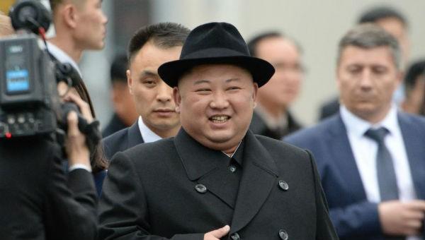 Ông Kim Jong-un tại Nga