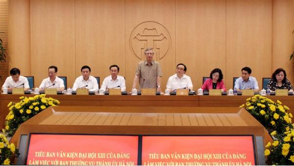 Hà Nội kiến nghị Trung ương tăng cường phân cấp, phân quyền
