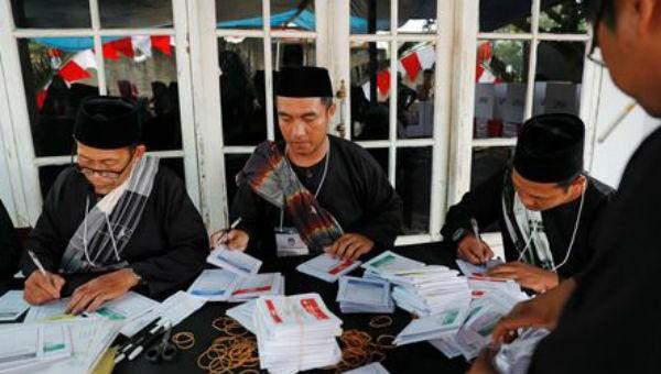 Tin sốc về cuộc bầu cử tại Indonesia