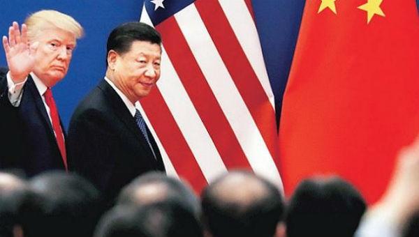Tổng thống Mỹ Trump và Chủ tịch Trung Quốc Tập Cận Bình.