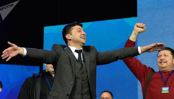 Tổng thống đắc cử Ukraine Zelensky