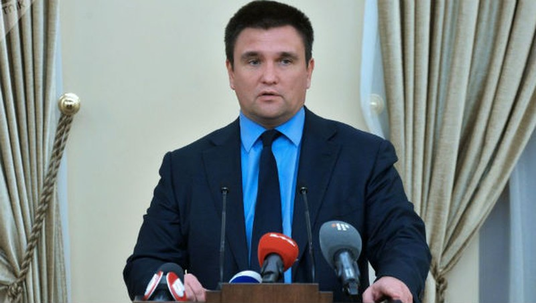 Ngoại trưởng Ukraine Pavel Klimkin.