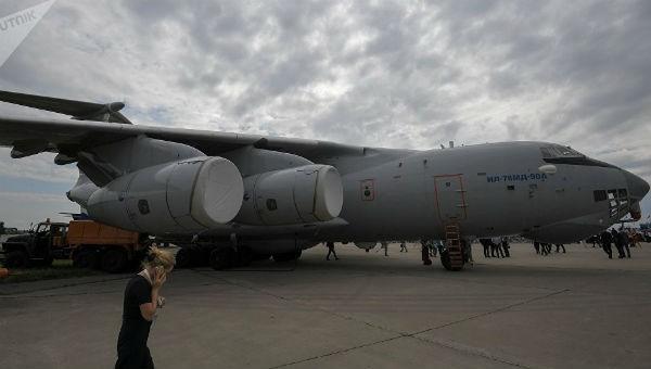 Chiếc máy bay vận tải quân sự mới của Nga.