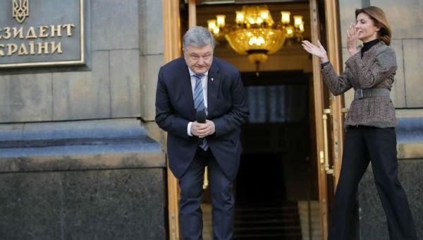 Tổng thống Ukraine Piotr Poroshenko.