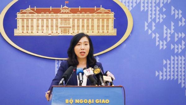 Việt Nam lên tiếng việc Trung Quốc tổ chức đua thuyền buồm tại khu vực Hoàng Sa