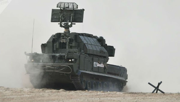 Hệ thống tên lửa Tor-E2 của Nga