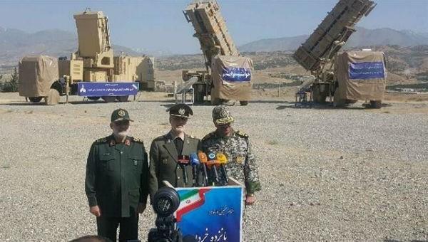Giới chức Iran công bố hệ thống phòng không mới