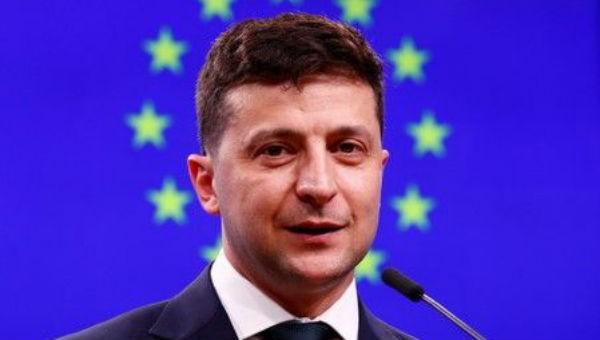 Tân Tổng thống Ukraine Volodymyr Zelenskiy.