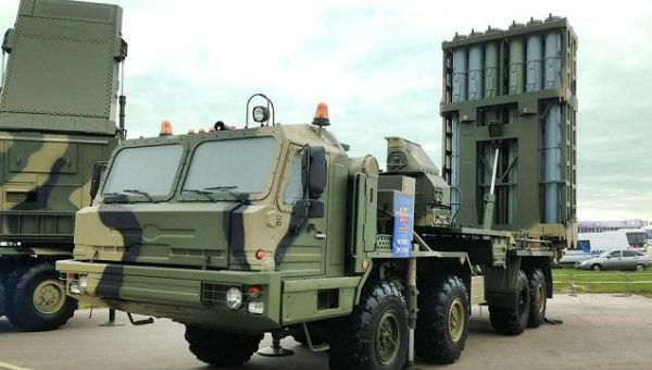 Hệ thống tên lửa phòng không mới nhất S-350 Vityaz của Nga.