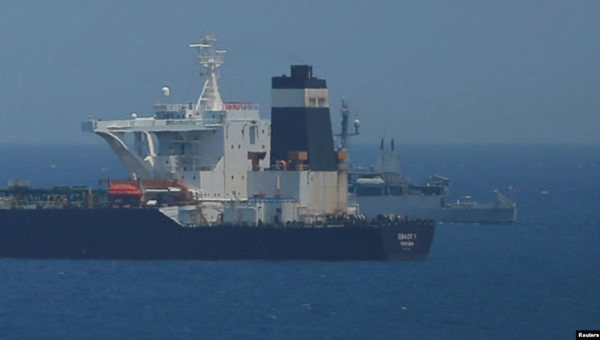 Iran doạ bắt tàu Anh để 'trả đũa' vụ bắt giữ tàu chở dầu