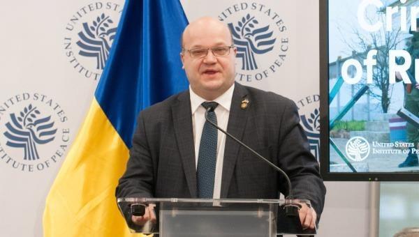 Đại sứ Ukraine tại Mỹ Valeriy Chaly.