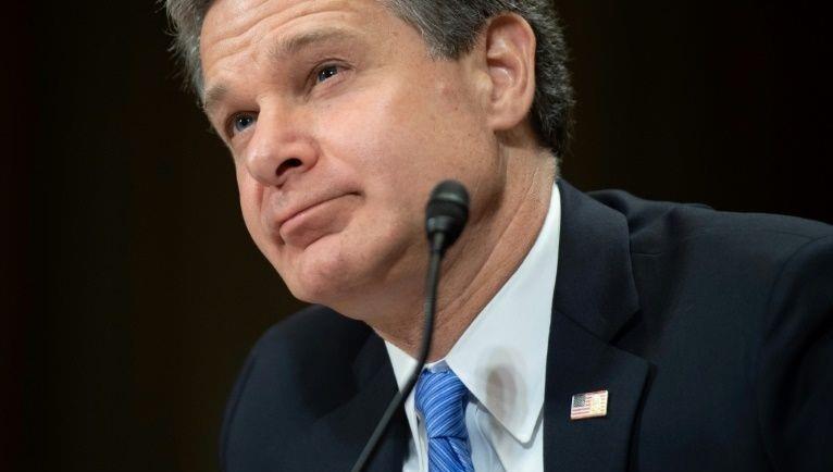 Giám đốc FBI Christopher Wray.