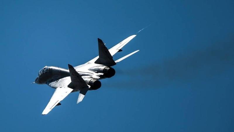 Máy bay MiG-29 của Azerbaijan rơi xuống biển Caspi