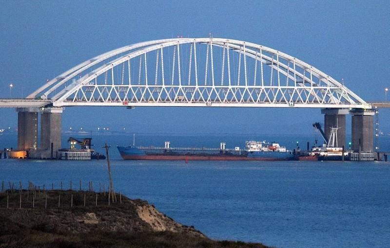 Ukraine bắt giữ tàu Nga để trả đũa sự cố ở Eo biển Kerch hồi cuối năm ngoái.