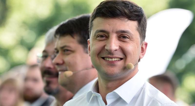 Tổng thống Ukraine Vladimir Zelensky.
