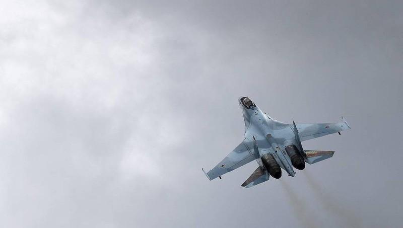 Máy bay Su-35S.