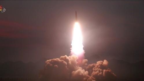 Triều Tiên phóng tên lửa hôm 6/8.