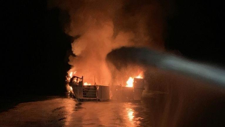 8 người thiệt mạng, 26 người mất tích trong vụ cháy tàu lặn ở Mỹ