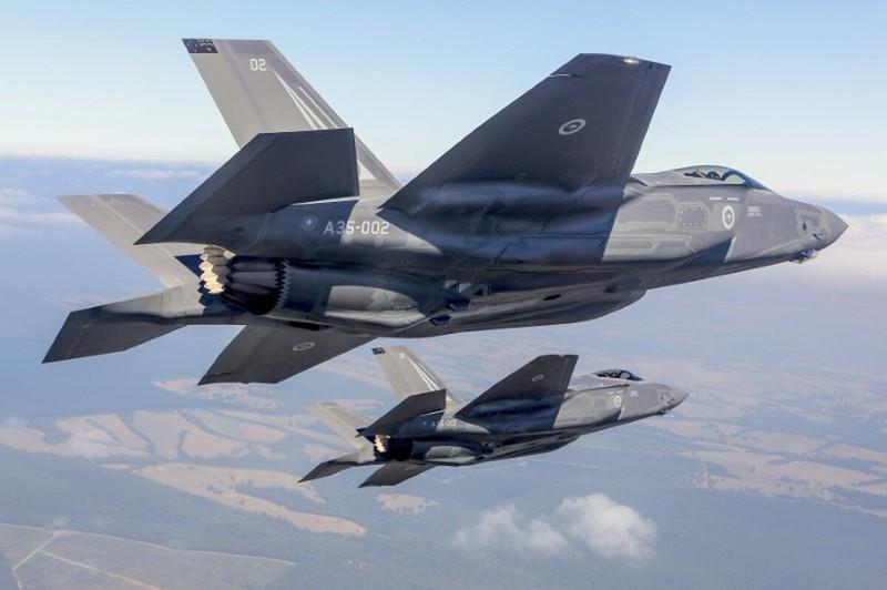 Máy bay chiến đấu F-35 của Mỹ.