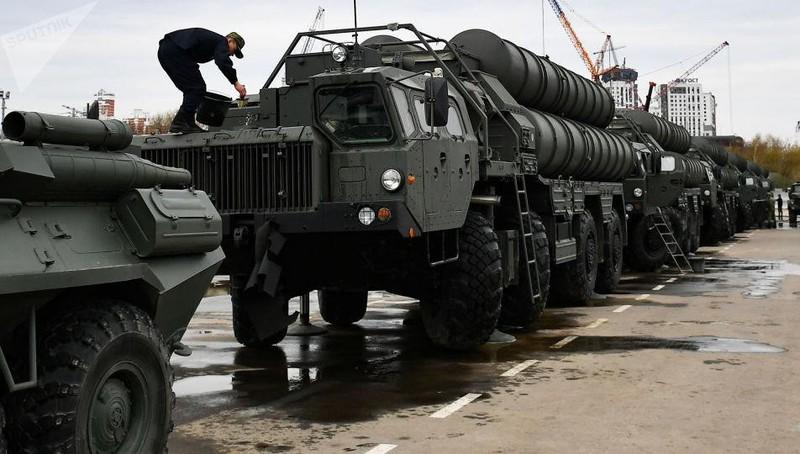 Hệ thống S-400 của Nga.