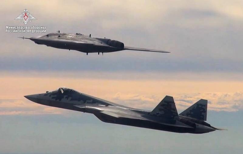 Hỉnh ảnh chuyến bay do Bộ Quốc phòng Nga công bố.
