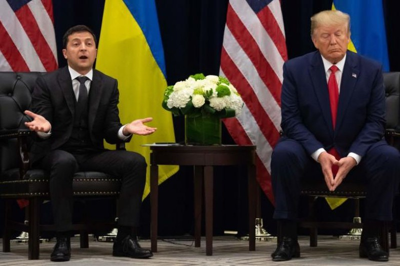 Ông Zelensky và ông Trump.