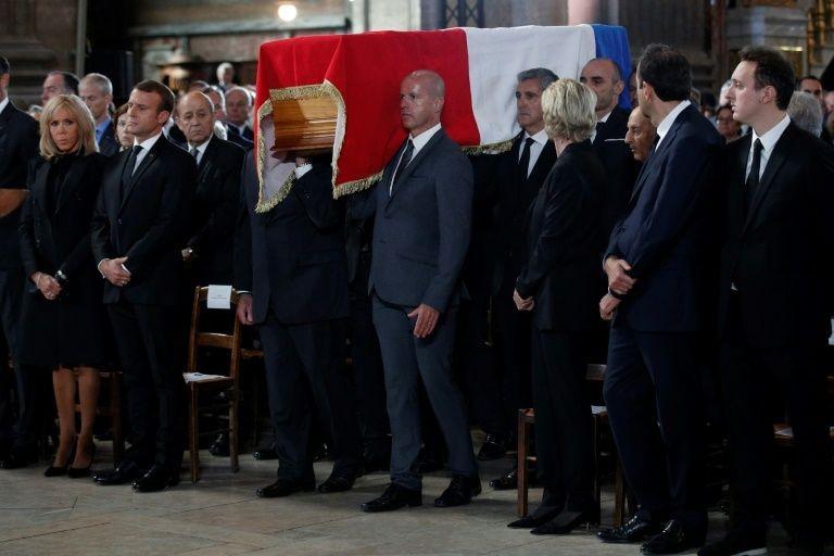 Hình ảnh tại tang lễ.