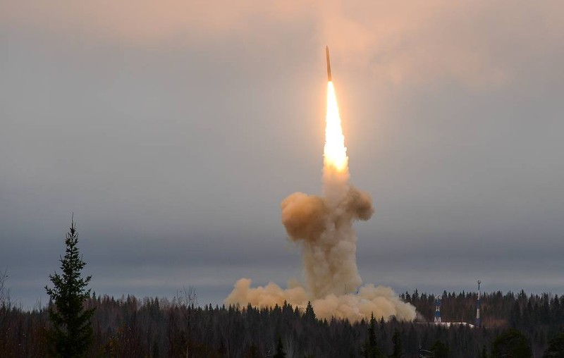 """Nga thử tên lửa """"không đối thủ"""", mang đầu đạn cực """"khủng"""""""