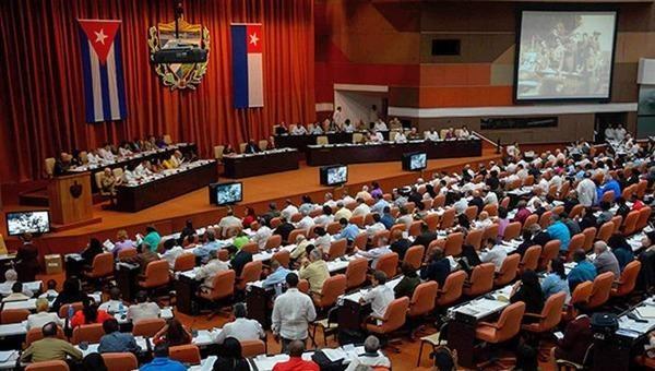 Một phiên họp của Quốc hội Cuba.