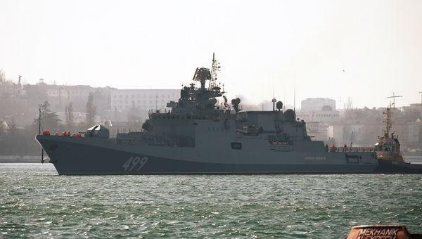 Tàu Nga khoe sức mạnh vũ bão, nã 80 quả đạn pháo trong chưa đầy 1 phút