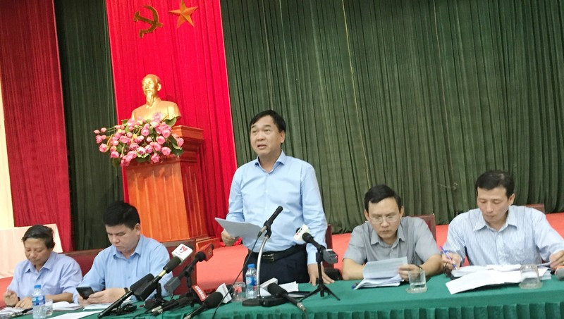 Giám đốc Sở Xây dựng TP Hà Nội Lê Văn Dục.