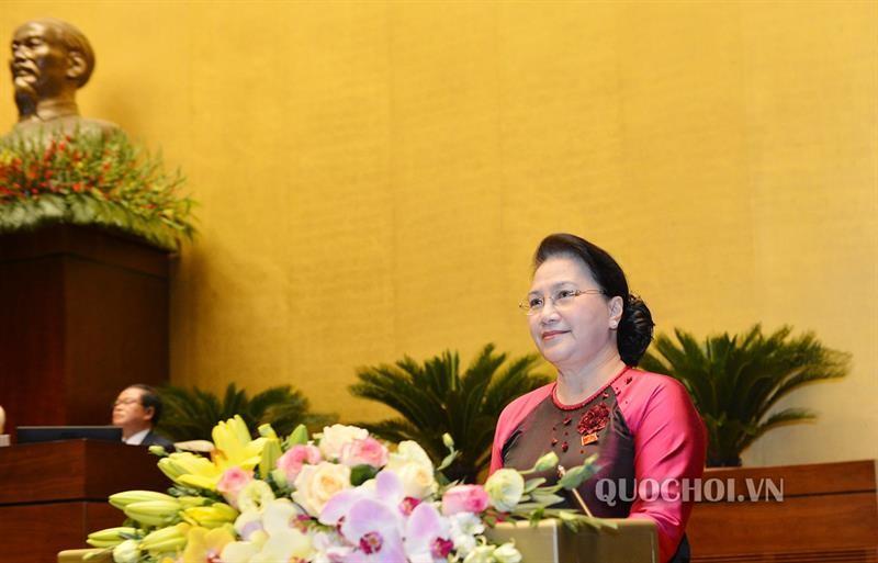 Chủ tịch Quốc hội: Kiên quyết, kiên trì bảo vệ chủ quyền, lãnh thổ Quốc gia