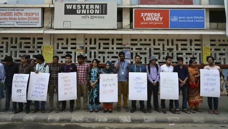Từ chối rút đơn tố cáo thầy giáo, nữ sinh Bangladesh bị thiêu sống