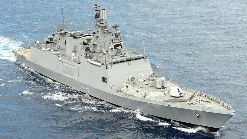 Tàu INS SAHYADRI của Hải quân Ấn Độ.