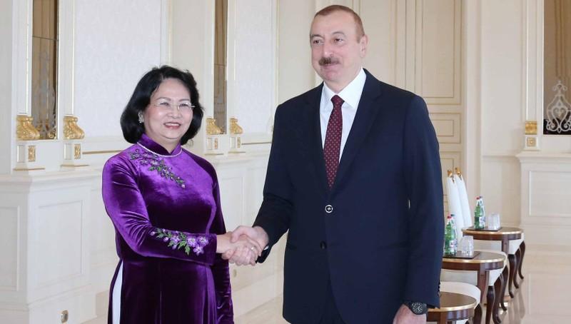 Tổng thống Azerbaijan  ủng hộ lập trường của Việt Nam về vấn đề Biển Đông