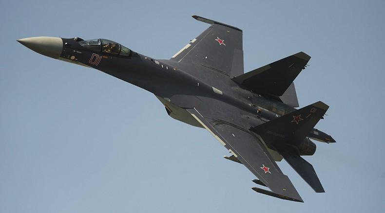 Máy bay Su-35 của Nga.