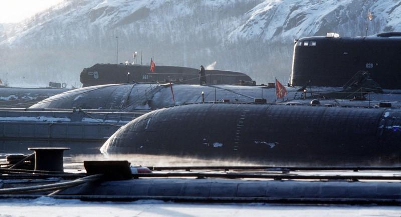 Tàu ngầm tối tân của Nga thử vũ khí mới trên biển