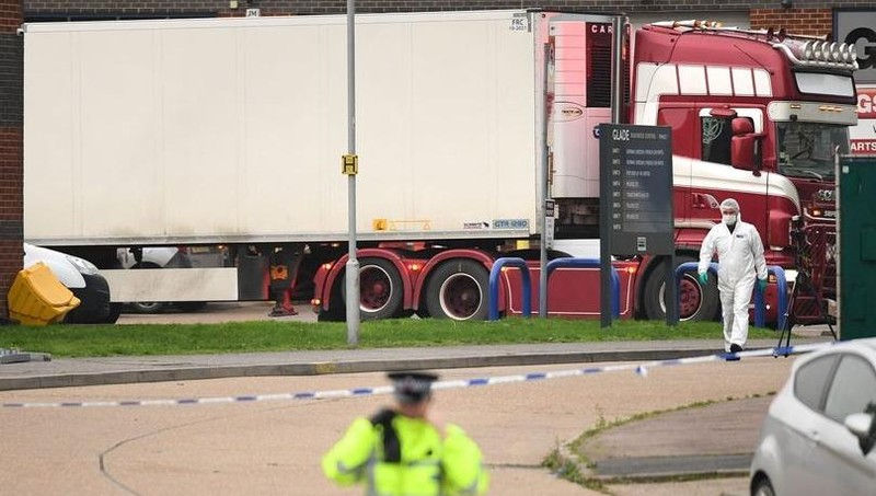 Vụ 39 người chết trong container: Thông tin bất ngờ từ người dân Anh