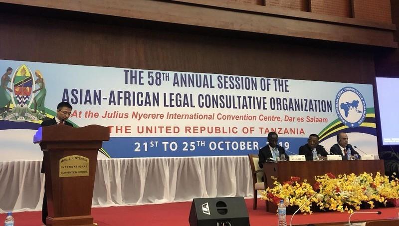 Việt Nam đóng góp tích cực vào sự phát triển của luật pháp quốc tế tại AALCO