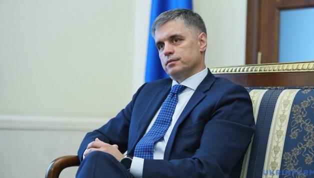 Ngoại trưởng Ukraine Vadym Prystaiko.