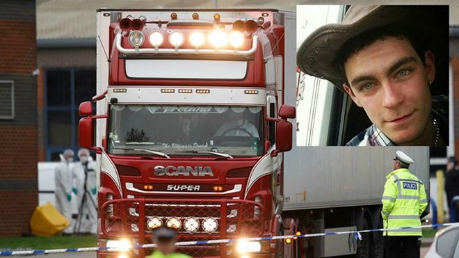 Đối tượng Maurice Robinson và chiếc xe tải chở các nạn nhân.