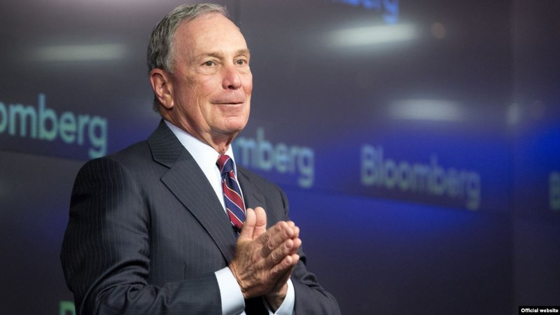 Ông Michael Bloomberg.