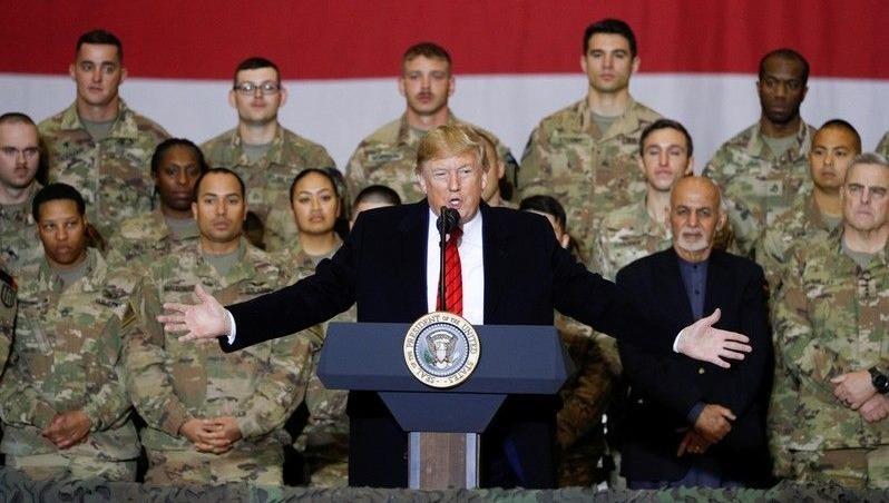 Ông Trump bất ngờ thăm Afghanistan
