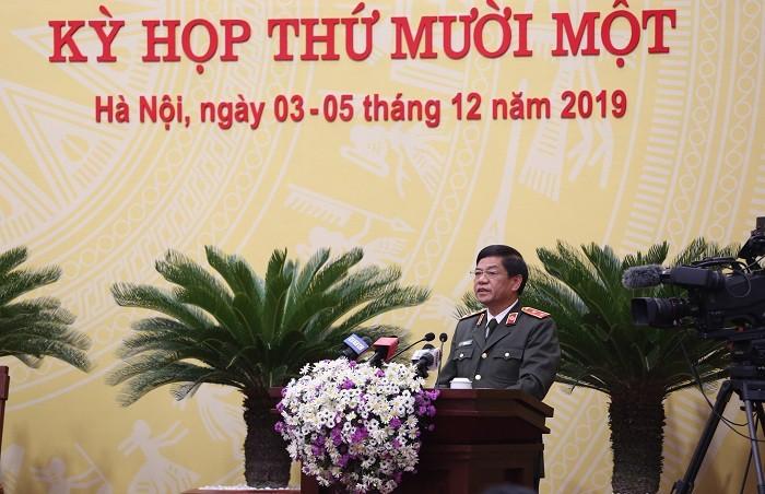 Giám đốc Công an Hà Nội nêu biện pháp ngăn chặn tội phạm nghiêm trọng